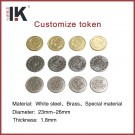 Cheap metal coins for customzie