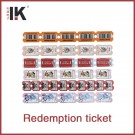 Different material redemption ticket game ticket